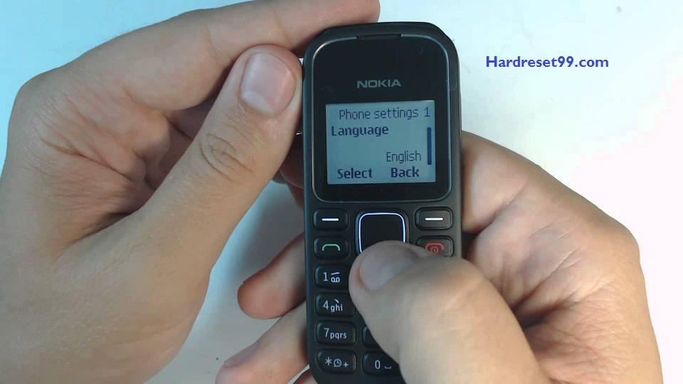 Nokia 1280 Hard reset - How To Factory Reset