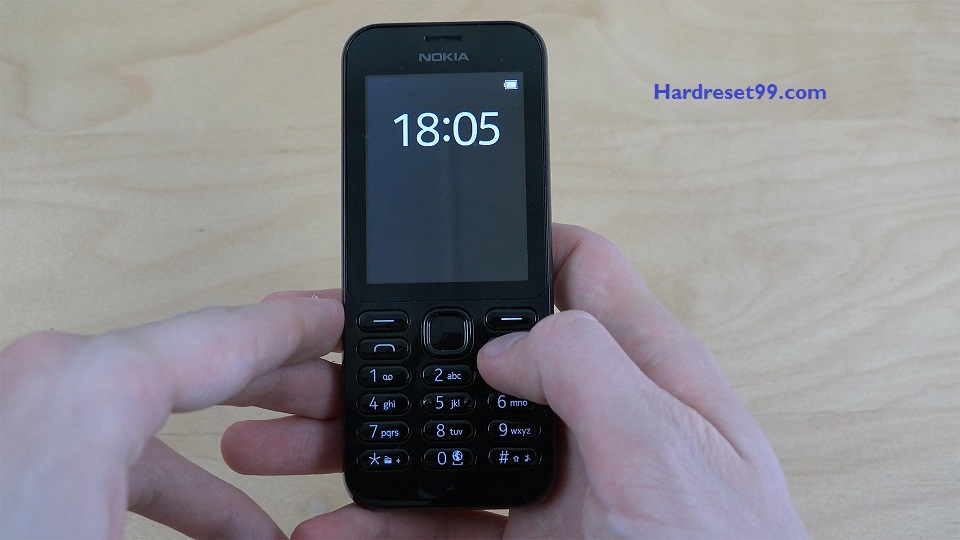 Nokia 222 Hard reset - How To Factory Reset