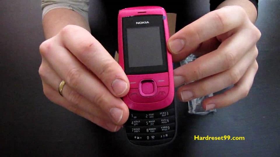 Nokia 2220 slide Hard reset - How To Factory Reset