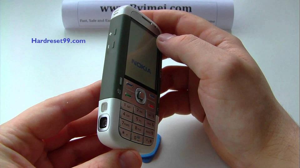 Nokia 3250 XM Hard reset - How To Factory Reset