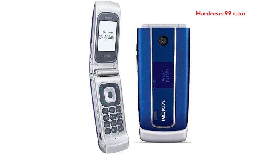 Nokia 3555 Hard reset - How To Factory Reset