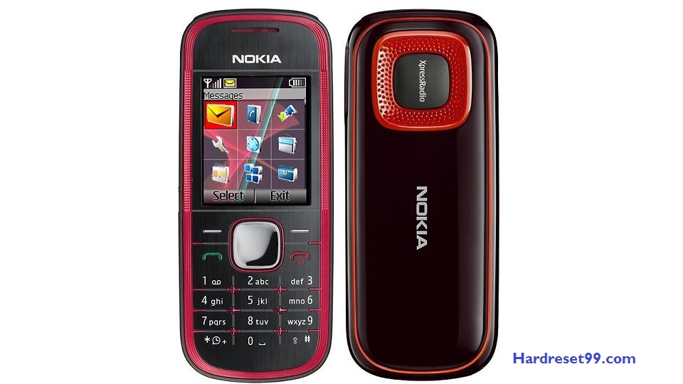 Nokia 5030 Hard reset - How To Factory Reset