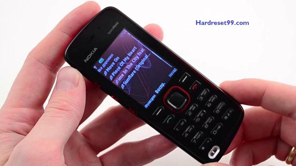Nokia 5220 Hard reset - How To Factory Reset