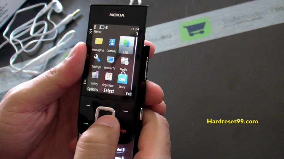 Nokia 5330 Mobile TV Hard reset - How To Factory Reset
