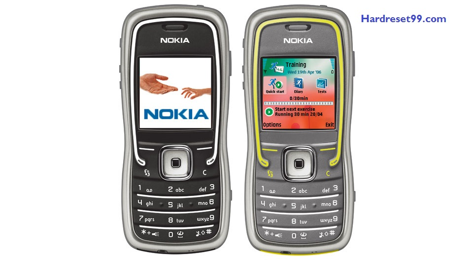 Nokia 5500 sport Hard reset - How To Factory Reset