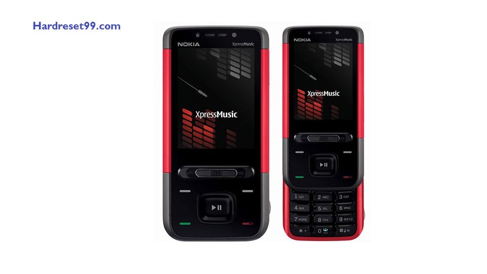 Nokia 5610 Hard reset - How To Factory Reset