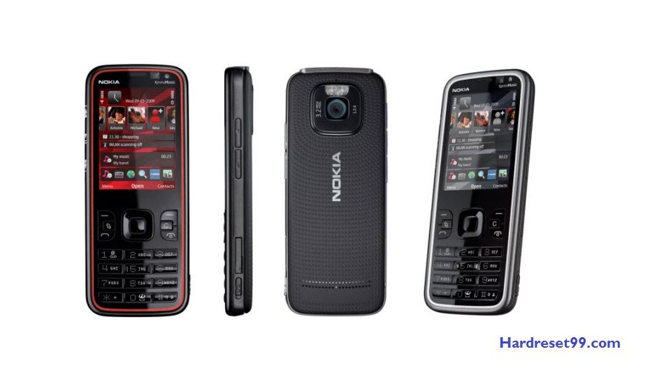 Nokia 5630 XM Hard reset - How To Factory Reset