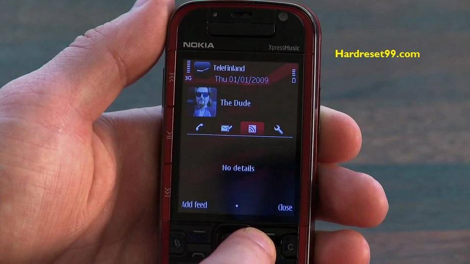 Nokia 5730 Hard reset - How To Factory Reset