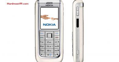 Nokia 6151 Hard reset - How To Factory Reset