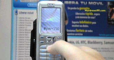 Nokia 6234 Hard reset - How To Factory Reset