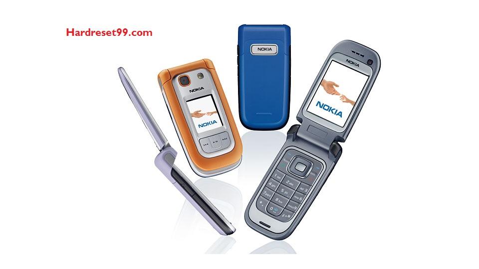 Nokia 6267 Hard reset