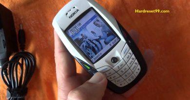 Nokia 6600 Hard reset - How To Factory Reset