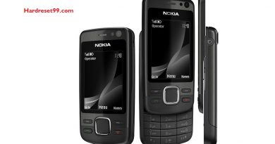 Nokia 6600i slide Hard reset - How To Factory Reset