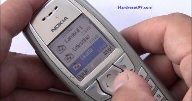 Nokia 6610 Hard reset - How To Factory Reset