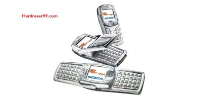 Nokia 6822 Hard reset - How To Factory Reset