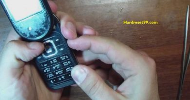Nokia 7373 SE Hard reset - How To Factory Reset