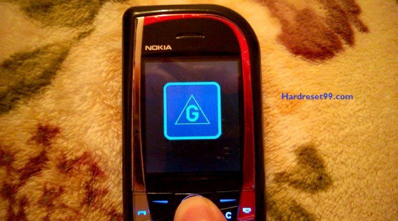 Nokia 7610 Hard reset - How To Factory Reset