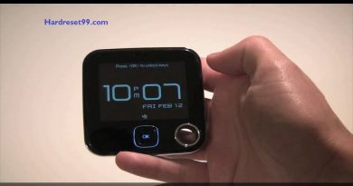 Nokia 7705 Twist Hard reset - How To Factory Reset