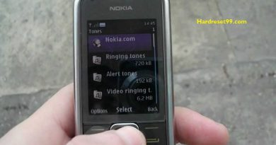 Nokia 8800 Carbon Hard reset - How To Factory Reset