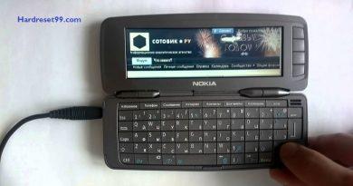 Nokia 9300i Hard reset - How To Factory Reset