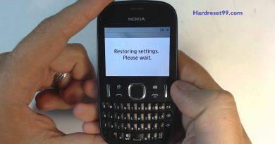 Nokia Asha 200 Hard reset - How To Factory Reset