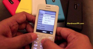 Nokia Asha 206 Hard reset - How To Factory Reset