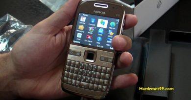 Nokia E72 Hard reset - How To Factory Reset