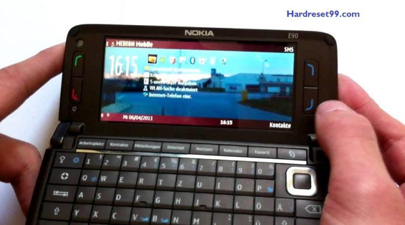 Nokia E90 Hard reset - How To Factory Reset