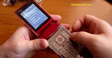 Nokia N76 Hard reset - How To Factory Reset