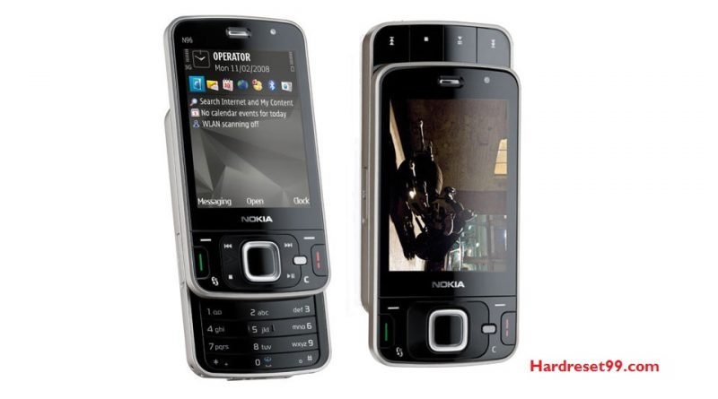 Nokia N96 Hard reset - How To Factory Reset