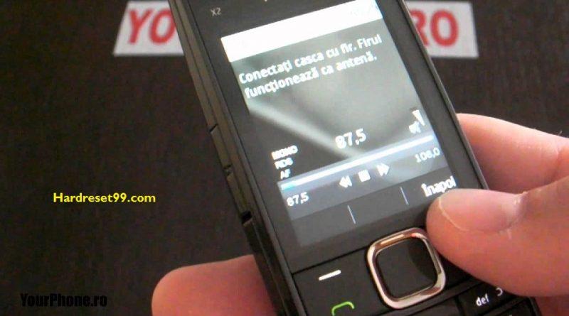 Nokia X2-05 Hard reset - How To Factory Reset