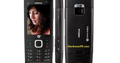 Nokia X5 TD-SCDMA Hard reset - How To Factory Reset