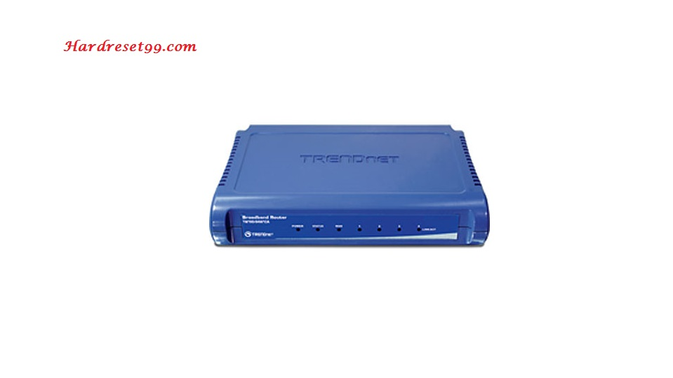 TRENDnet TW100-BRV324 Router - How to Reset to Factory Settings