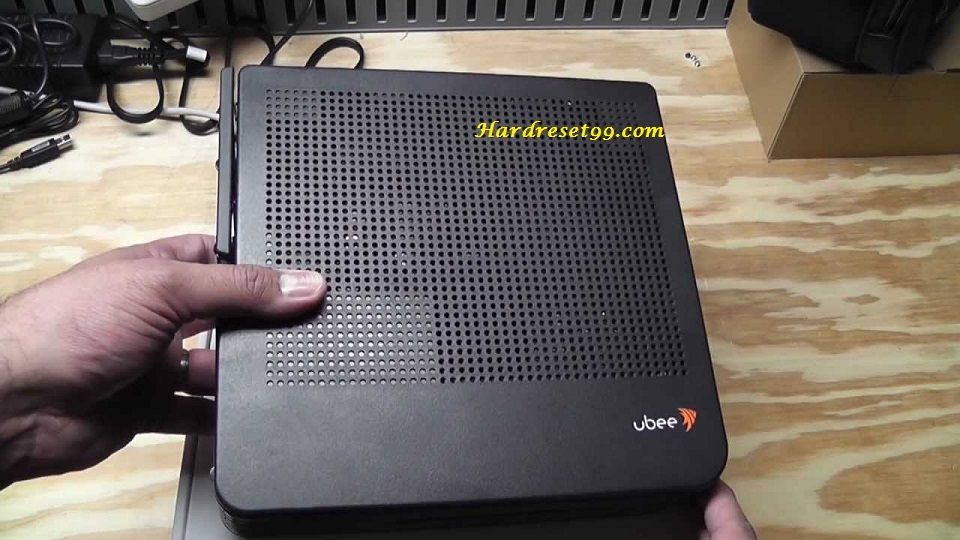 Ubee DVW326B Router - How to Reset to Factory Settings