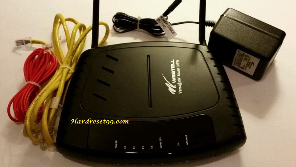 Westell C90-327W30-06 Router - How to Reset to Factory Settings