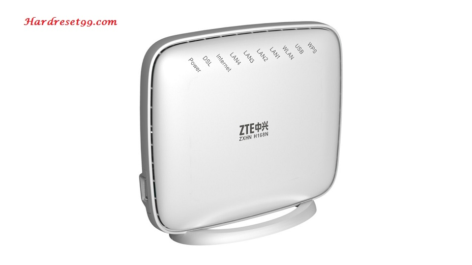 ZTE H369A Router - How to Reset to Factory Settings
