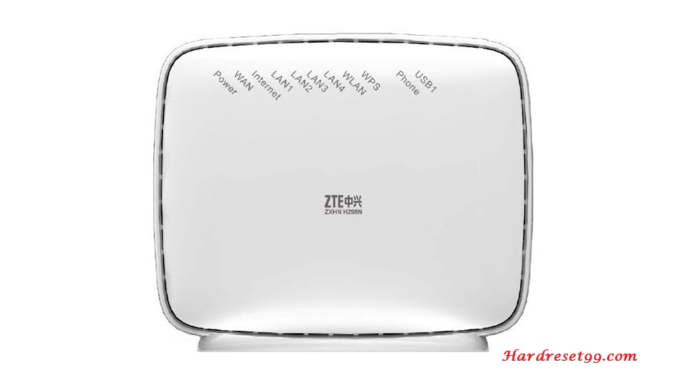 ZTE ZXHN H267N Router - How to Reset to Factory Settings