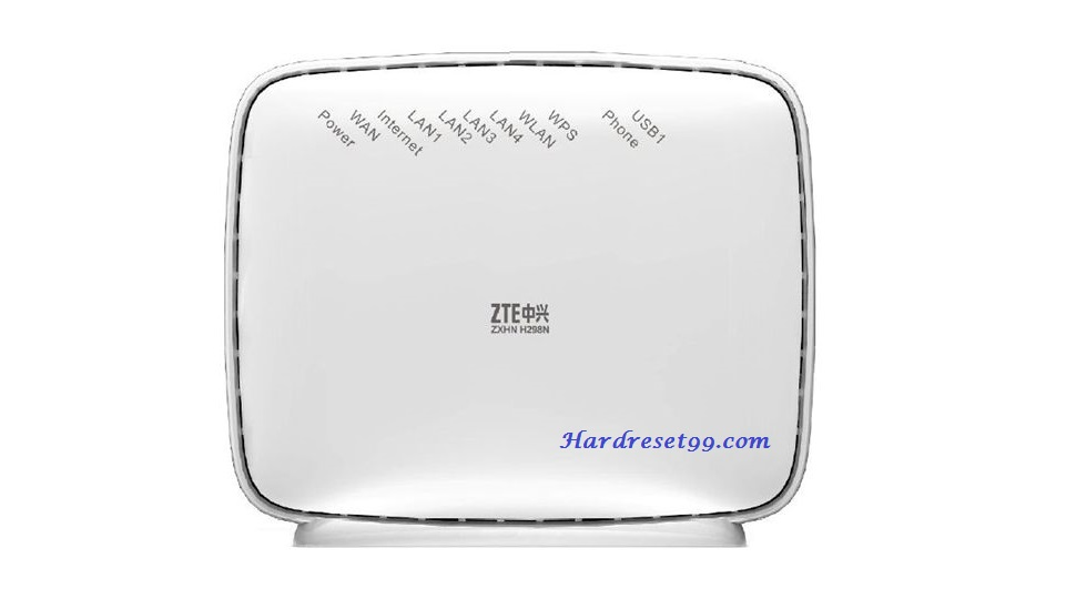 ZTE ZXHN H298N Hyperoptic Router - How to Reset to Factory Settings