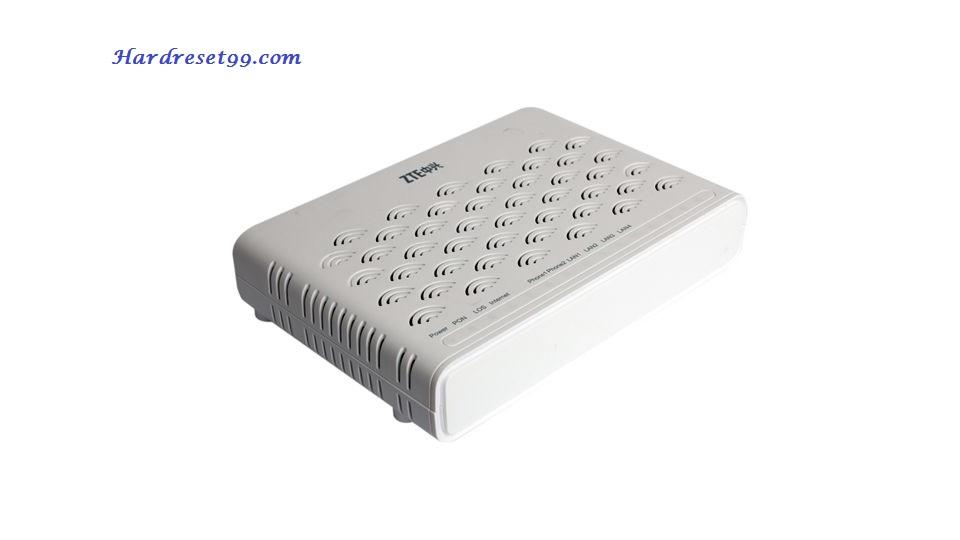 ZTE ZXHN_F620 Router - How to Factory Reset