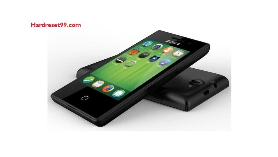 Zen 105 3G Hard reset - How To Factory Reset