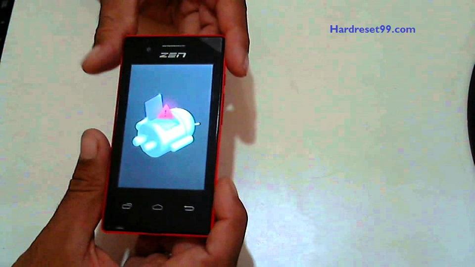 Zen 113 Hard reset - How To Factory Reset