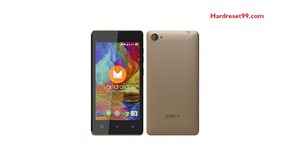 Zen Admire Glam Hard reset - How To Factory Reset
