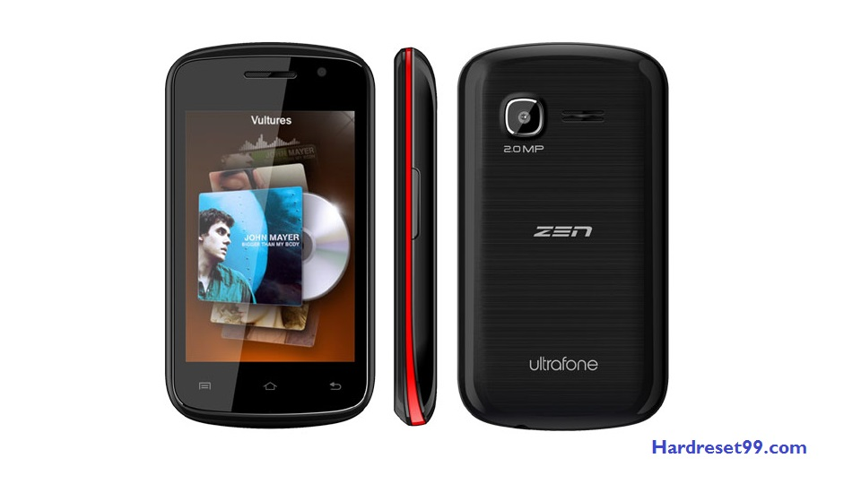 Zen Ultrafone 302 Hard reset - How To Factory Reset