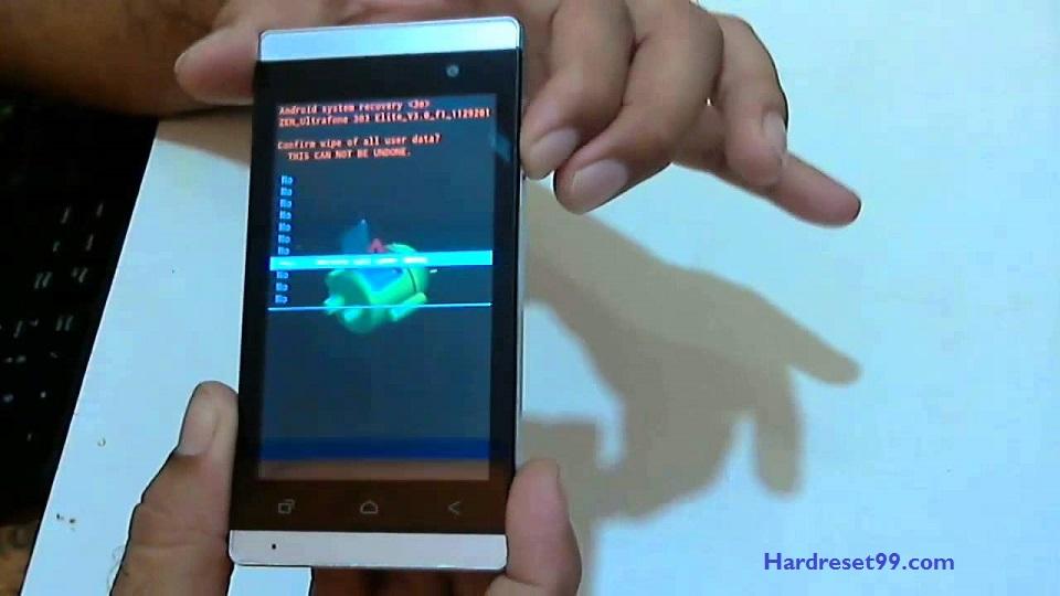 Zen Ultrafone 303 Elite 2 Hard reset - How To Factory Reset