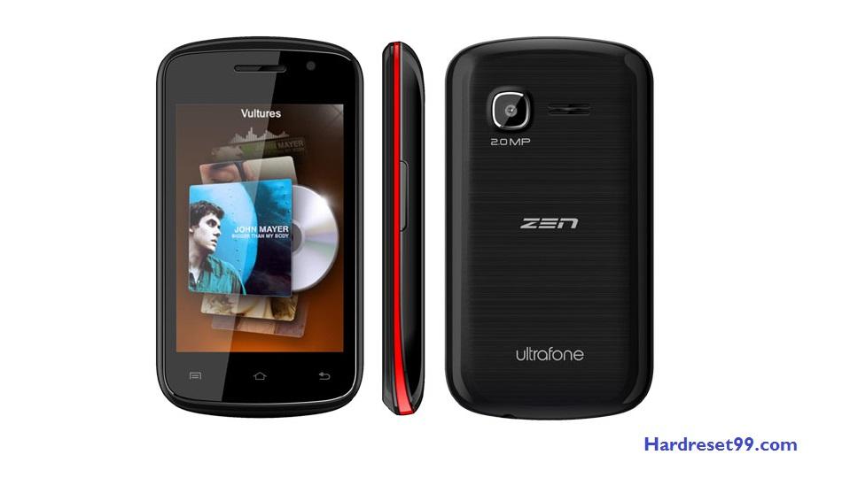 Zen Ultrafone 306 Play Hard reset - How To Factory Reset