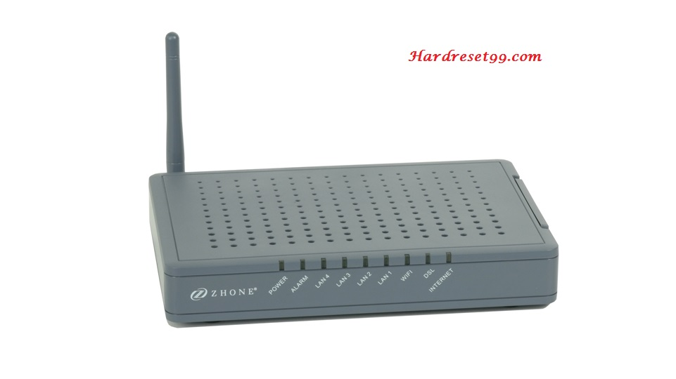 Zhone 1518-A1-xxx Router - How to Reset to Factory Settings