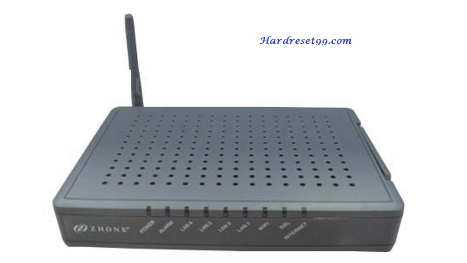 Zhone 6219-x1-xxx Router - How to Reset to Factory Settings
