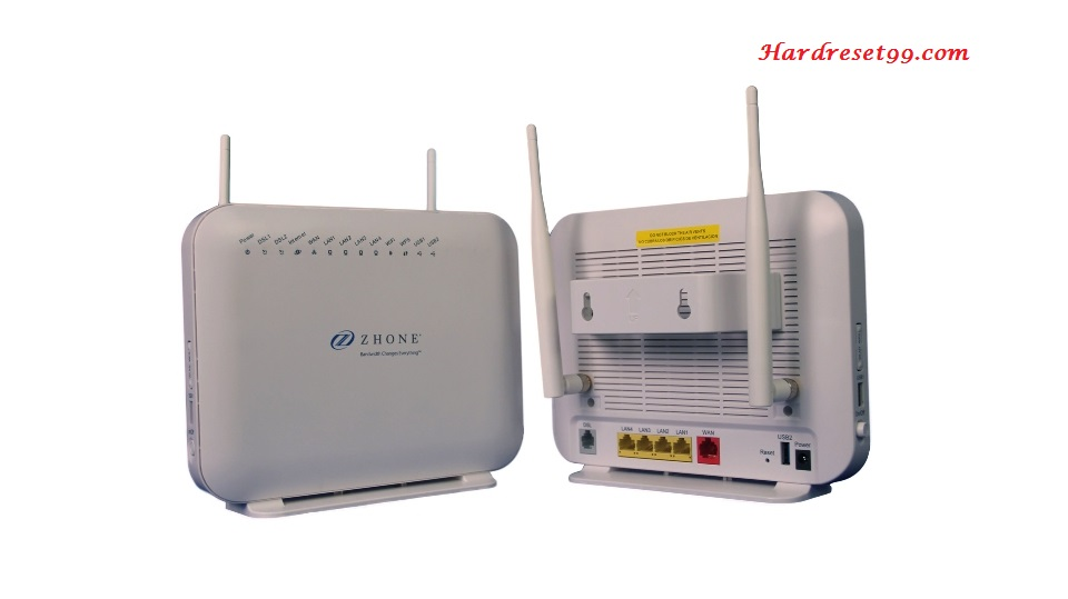 Zhone 6519-W1 Router - How to Factory Reset
