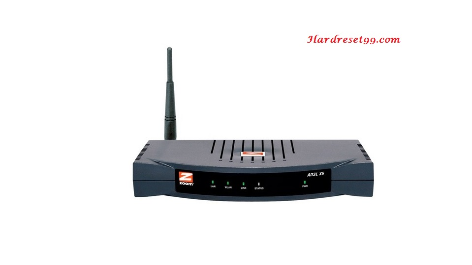 Zoom X6-5990 Router - How to Reset to Factory Settings