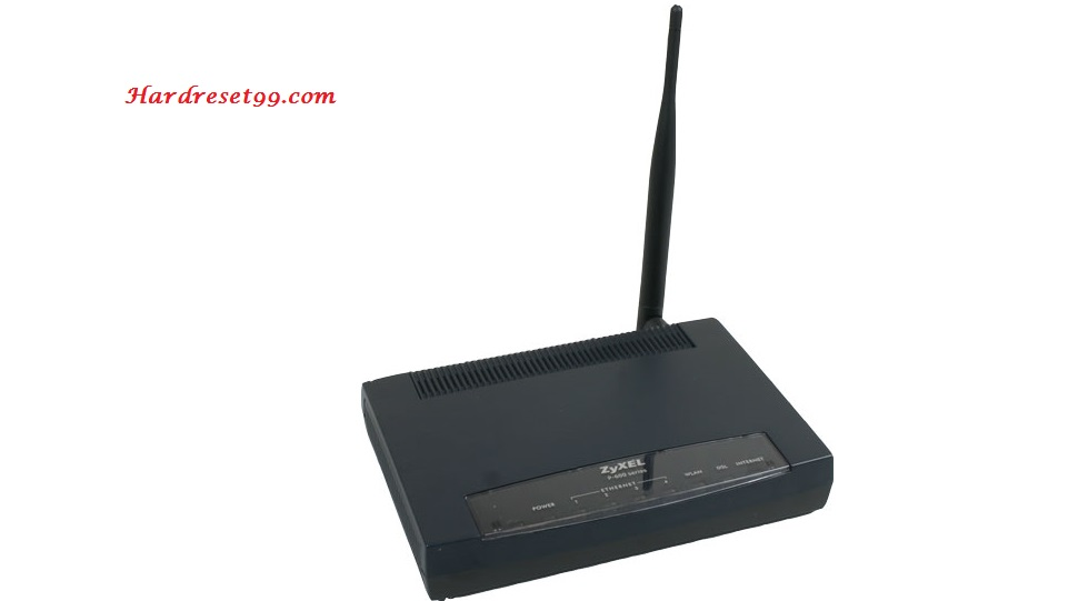 ZyXEL D1000 eircom Router - How to Reset to Factory Settings